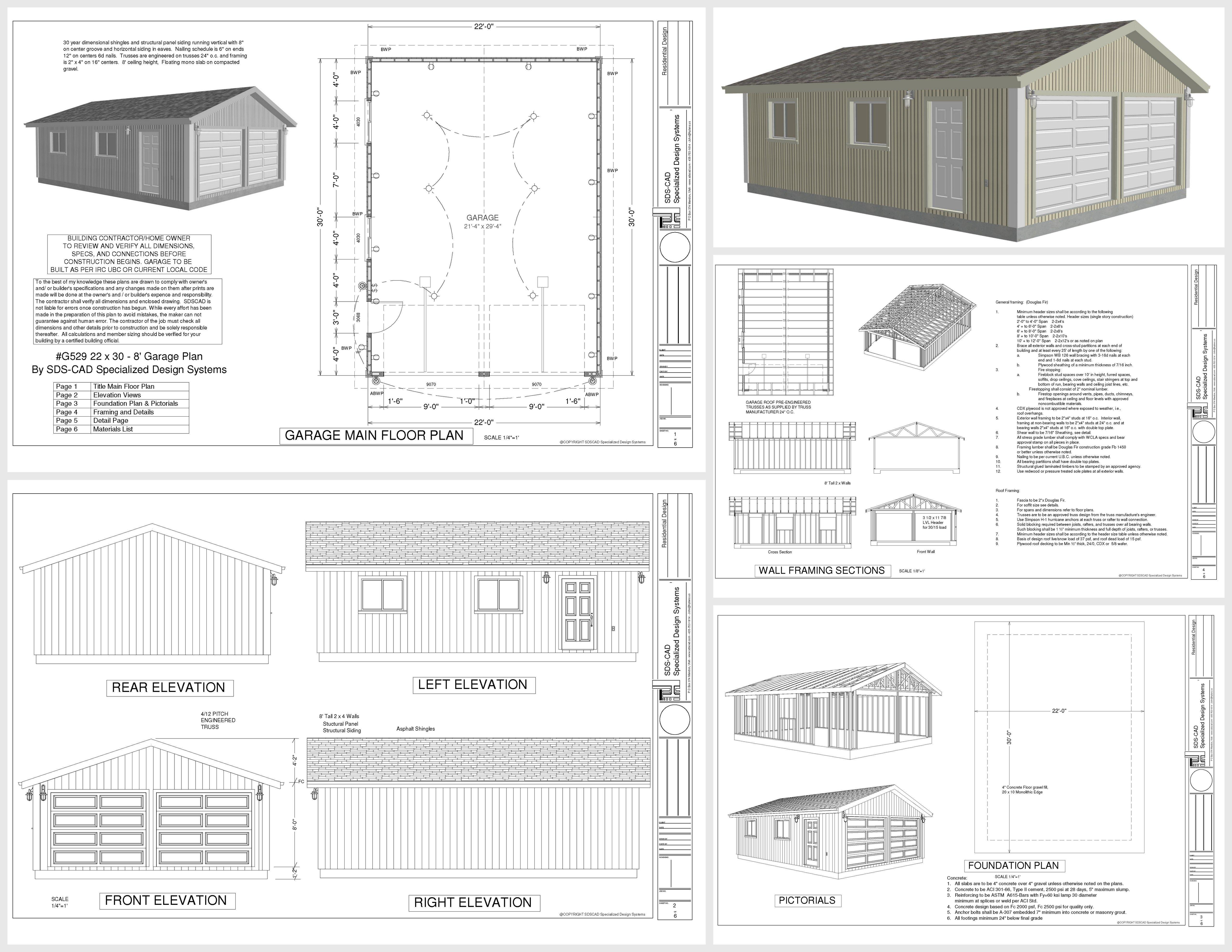 Pin By Max Adams On Madera In 2020 Garage Plans Free Garage Design Garage Plans