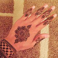 new simple mehndi henna designs for hands buzzpk ink also best images patterns rh pinterest