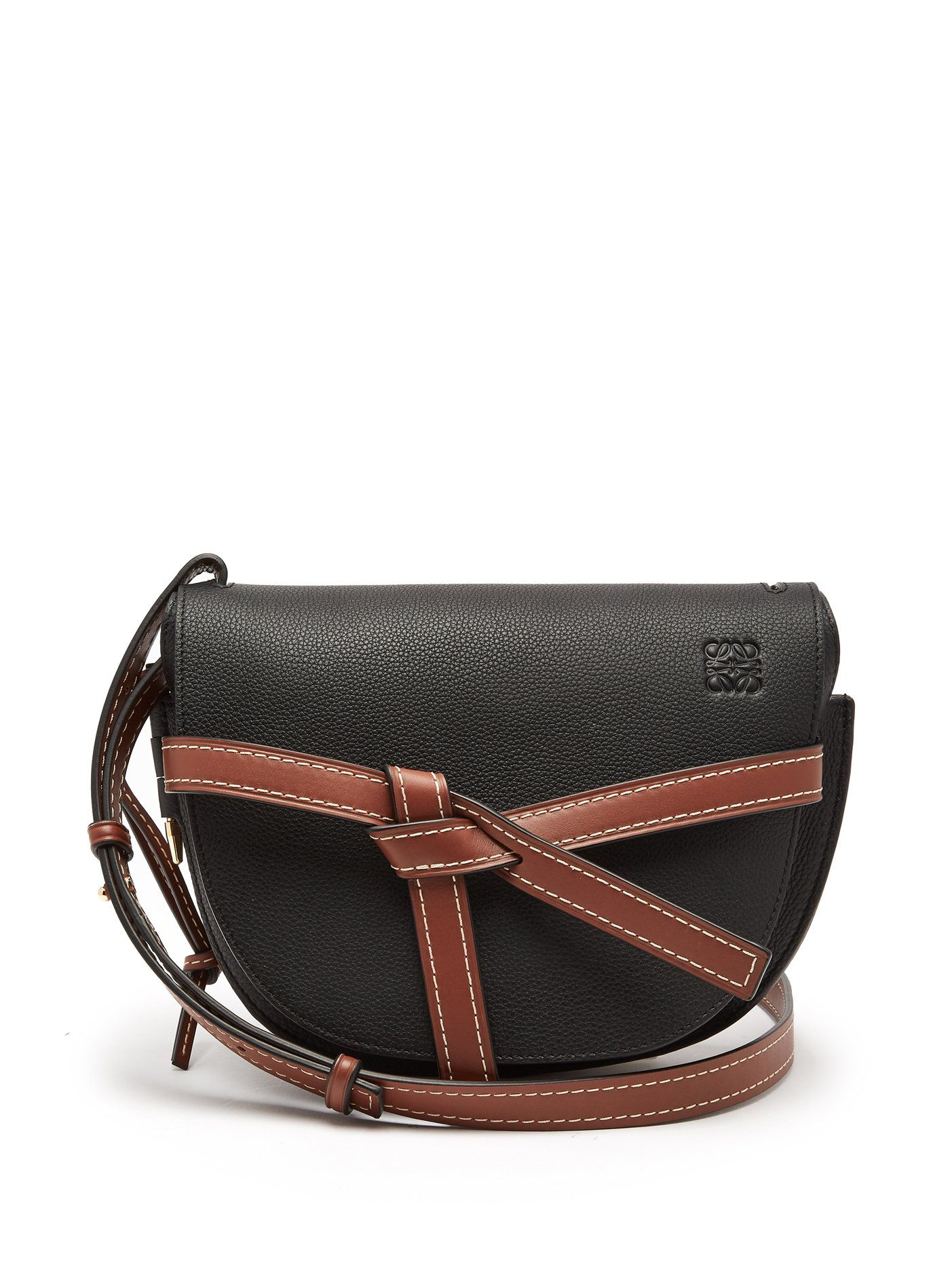 6807a89411c7 Gate small grained-leather cross-body bag | Loewe | MATCHESFASHION ...