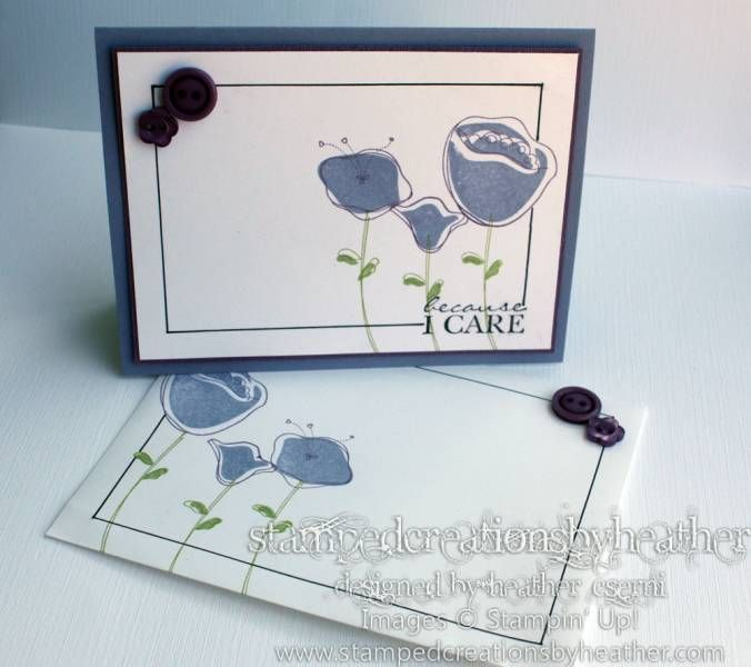 Framed Awash with Flowers by mrshmw - Cards and Paper Crafts at Splitcoaststampers