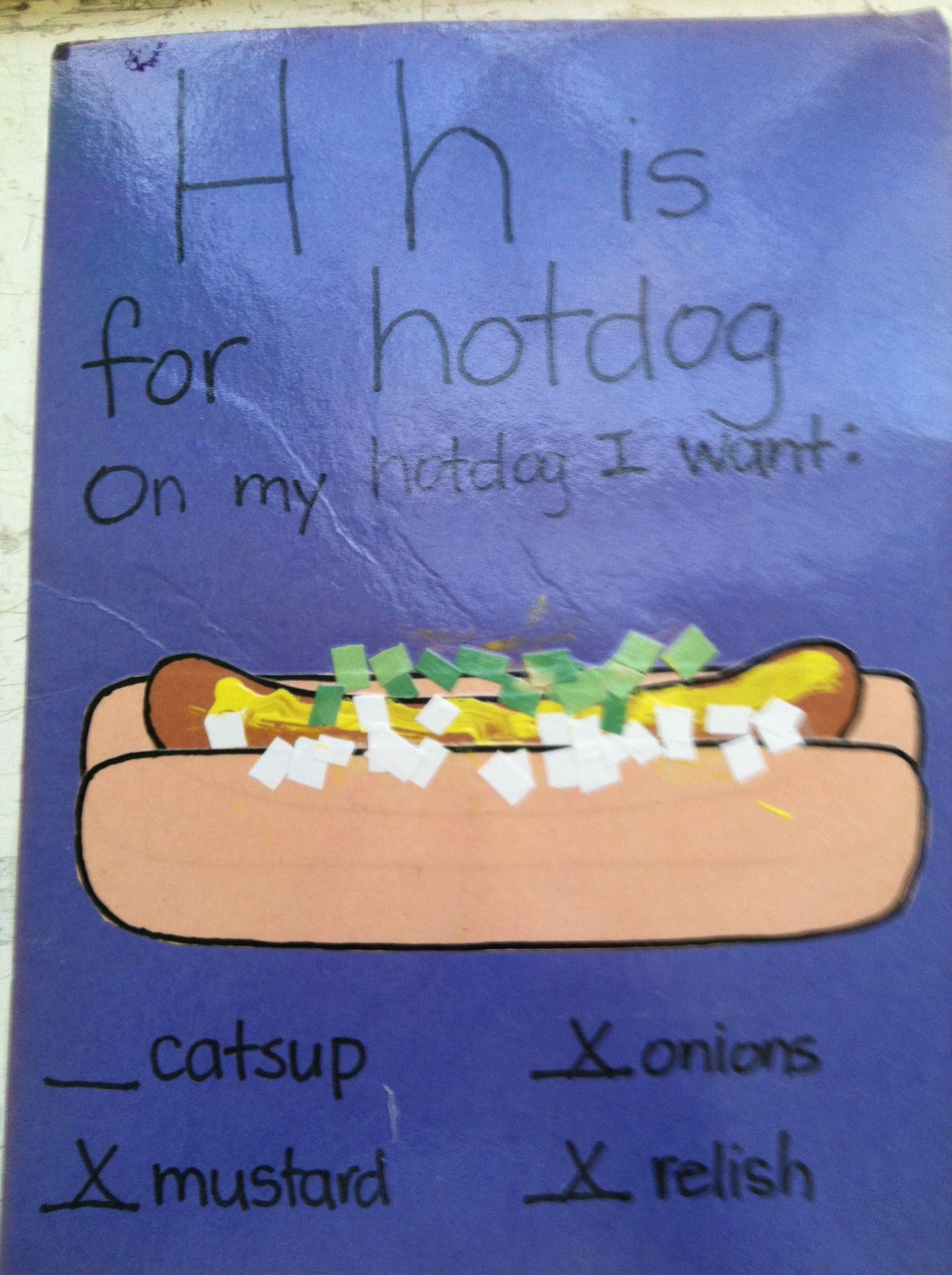 Letter H Craft