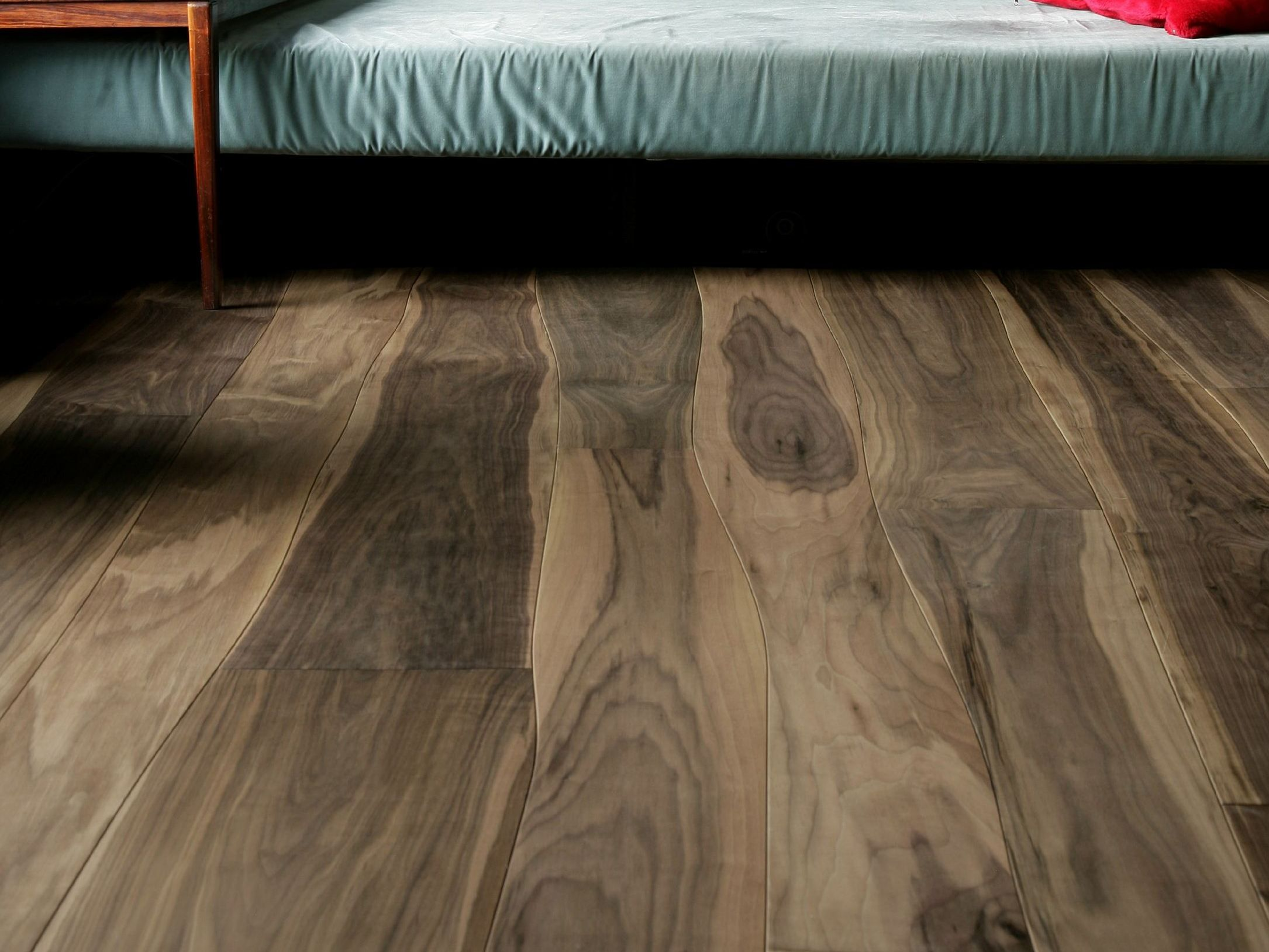 WALNUT FLOOR TILES / PARQUET BY BOLEFLOOR | wood floor porn | Pinterest