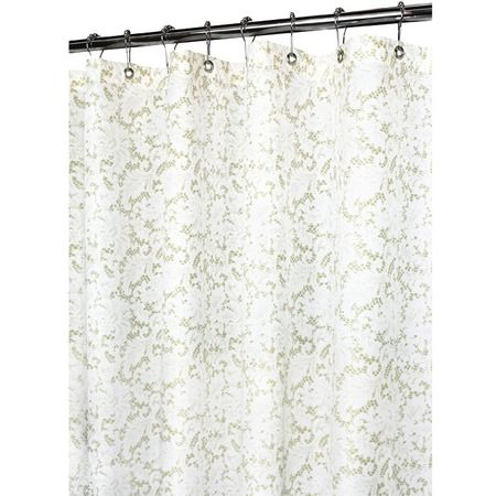 I Pinned This Victorian Lace Shower Curtain From The Room With