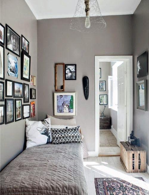 ▷21+ Fotos de decoración de dormitorios pequeños modernos【2018】
