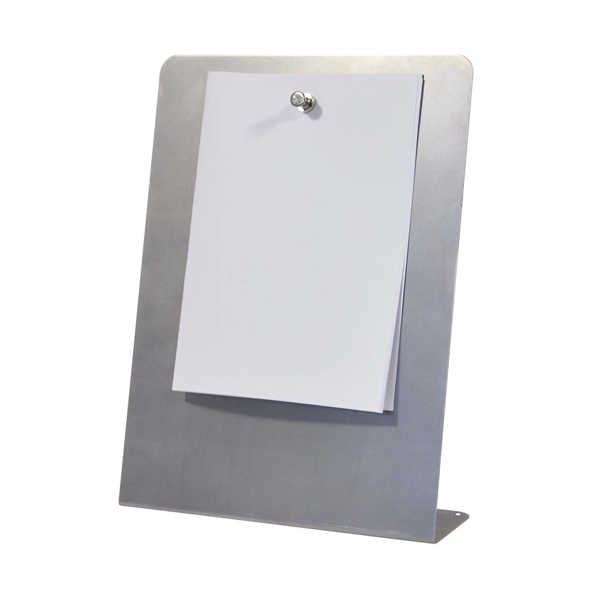 Metal Counter-Top Display Sign
