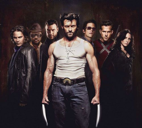 Another X Men Origins Wolverine Cast Poster Lynn Collins Wolverine Hugh Jackman Hugh Jackman