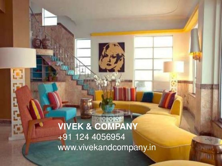3 4 5 Bedroom Apartment On Rent On Golf Course Road Gurgaon By 1244056954 Via Slideshare Retro Living Rooms Retro Interior Design Living Room Design Modern
