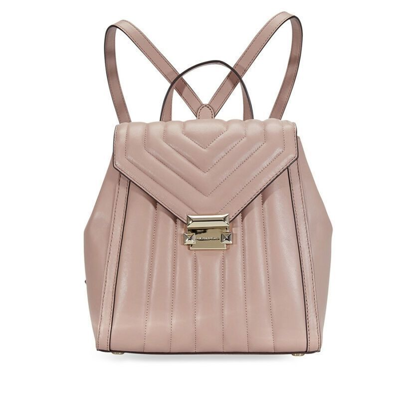 091a3b2fb32a US  161.10-Michael Kors Whitney Quilted Leather Backpack- Fawn 30F8TXIB2T- 133