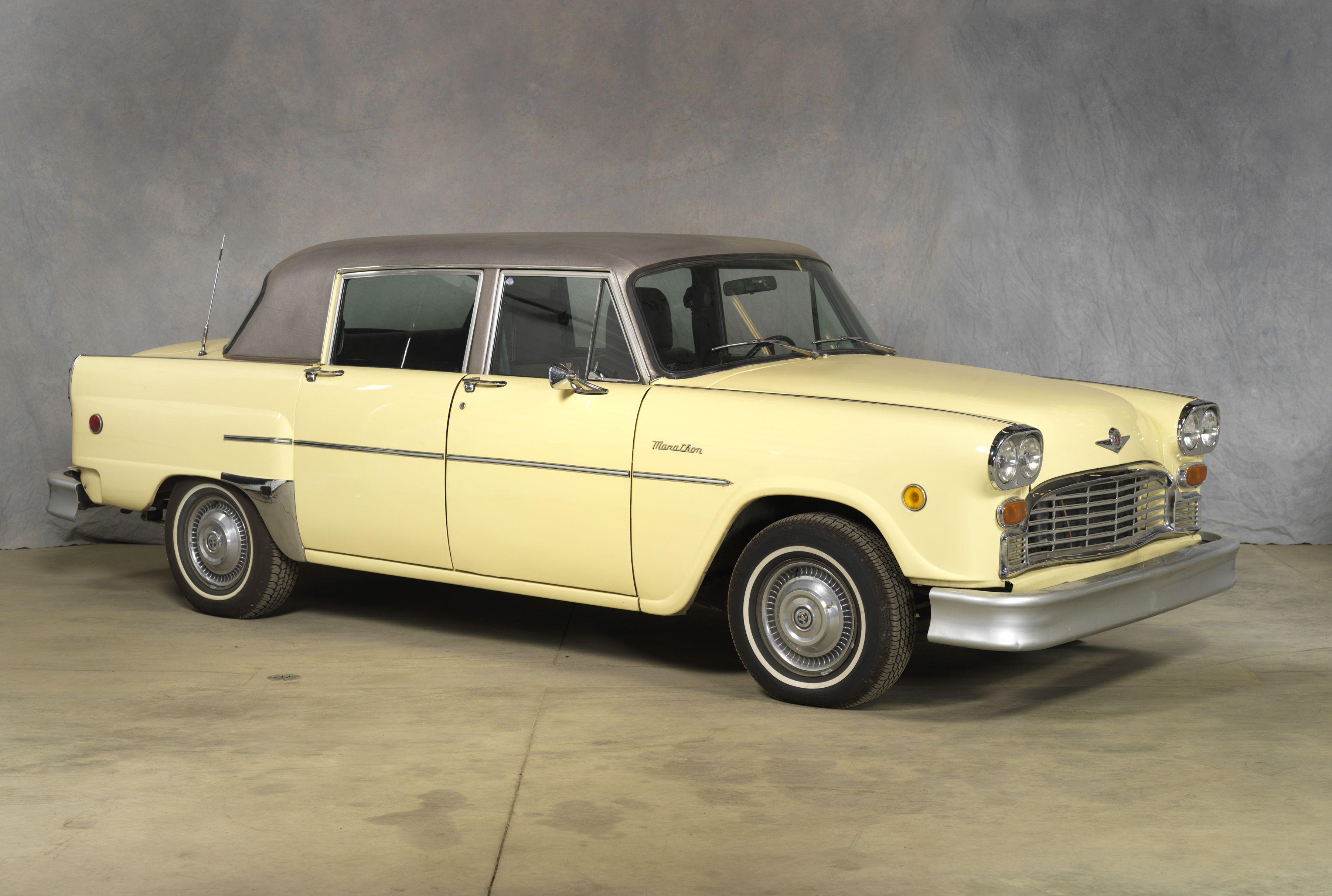 1981 checker marathon sedan in 1922 the checker cab manufacturing company was formed in