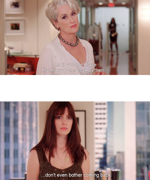 Anne Hathaway Quotes: The Devil Wears Prada