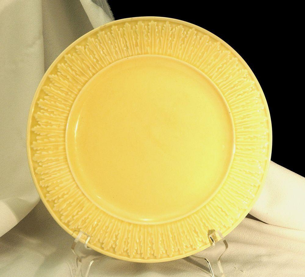 Bordallo Pinheiro Yellow Dinner Plate Rabbit? & Bordallo Pinheiro Yellow Dinner Plate Rabbit? | Little Mermaids ...