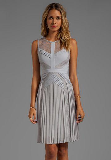 991794e71e BCBGMAXAZRIA Sleeveless Dress in Glacier - Cocktail