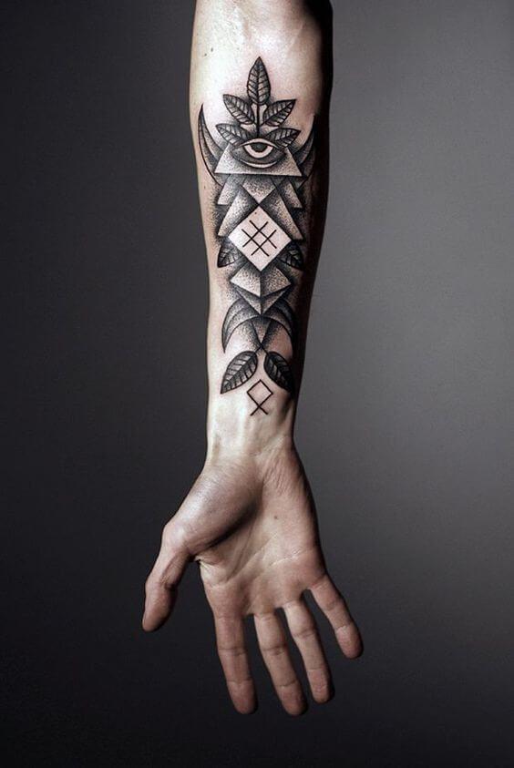 Geometric Tattoos For Men Arm Tattoos Tatouage Tatouage