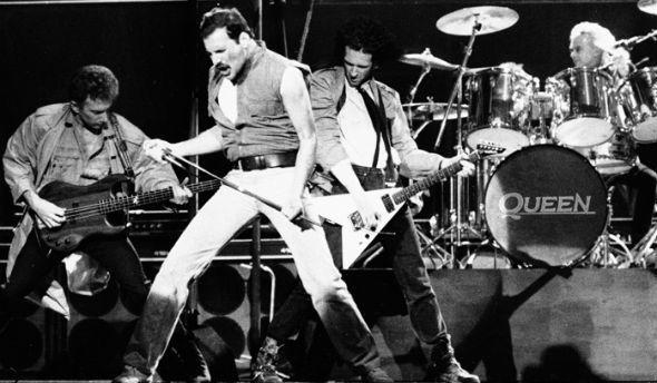 a legends of rock story #queen