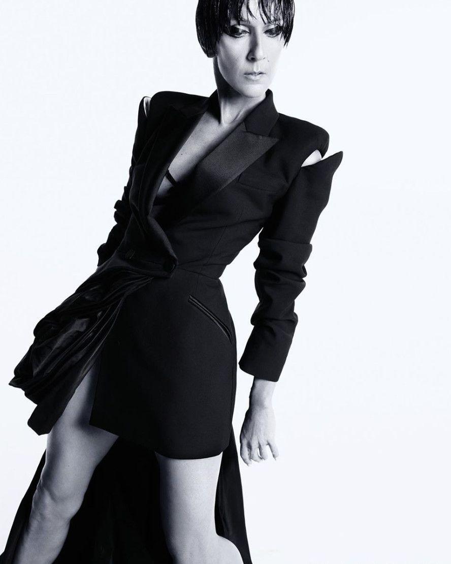 Celine Dion Goes Naked For Vogue | Girlfriend