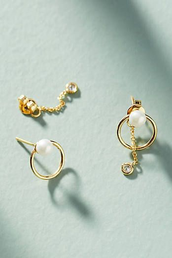 9b97a5dadfb2 Alicia Front-Back Earrings Pendientes Delanteros Traseros