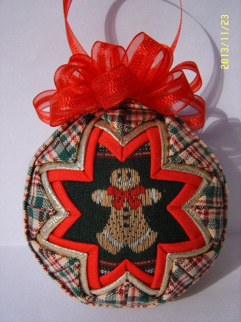 how to make quilted ornaments