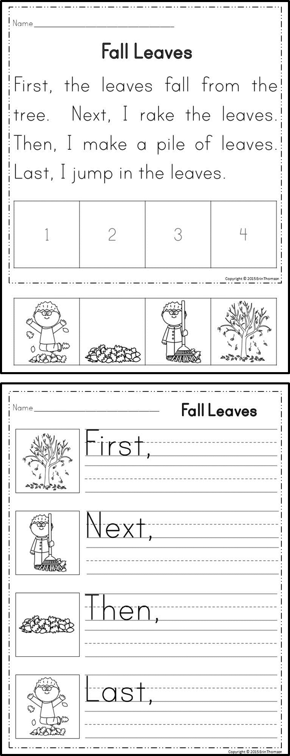 Sequencing Stories ~ First, Next, Then, Last {Set 1 ...