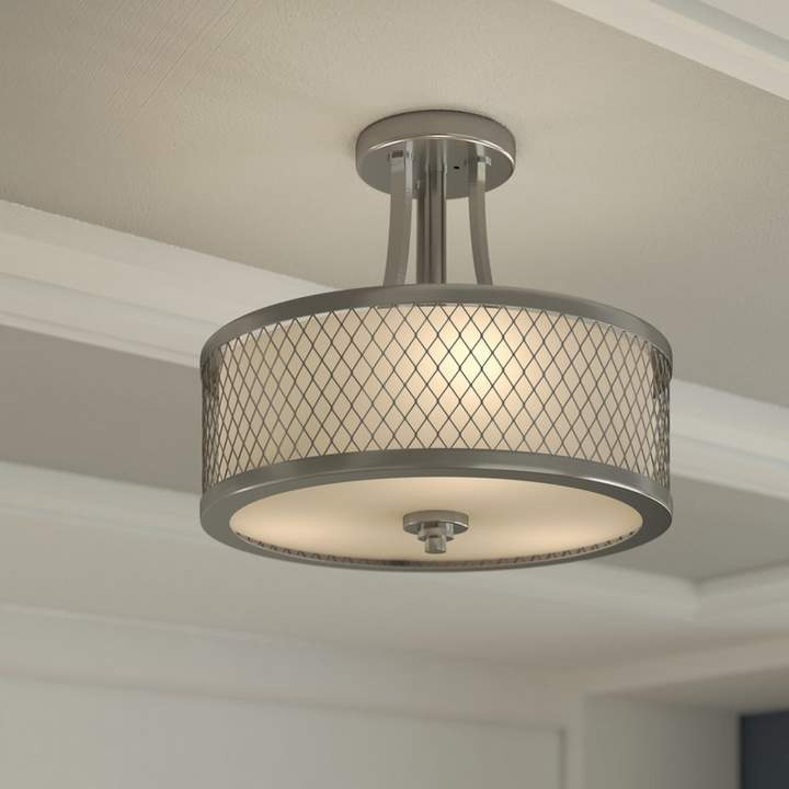 Co Darby Home Lofton 3 Light Semi Flush Mount With Images