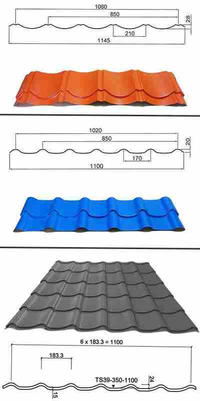 Roll Forming Machine Roll Forming Metal Roof Tiles Road Design