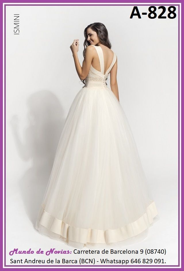 5793f82d8d6e Exclusivo y Original Vestido de Novia Bohemio y Vintage realizado a mano  hasta el último detalle