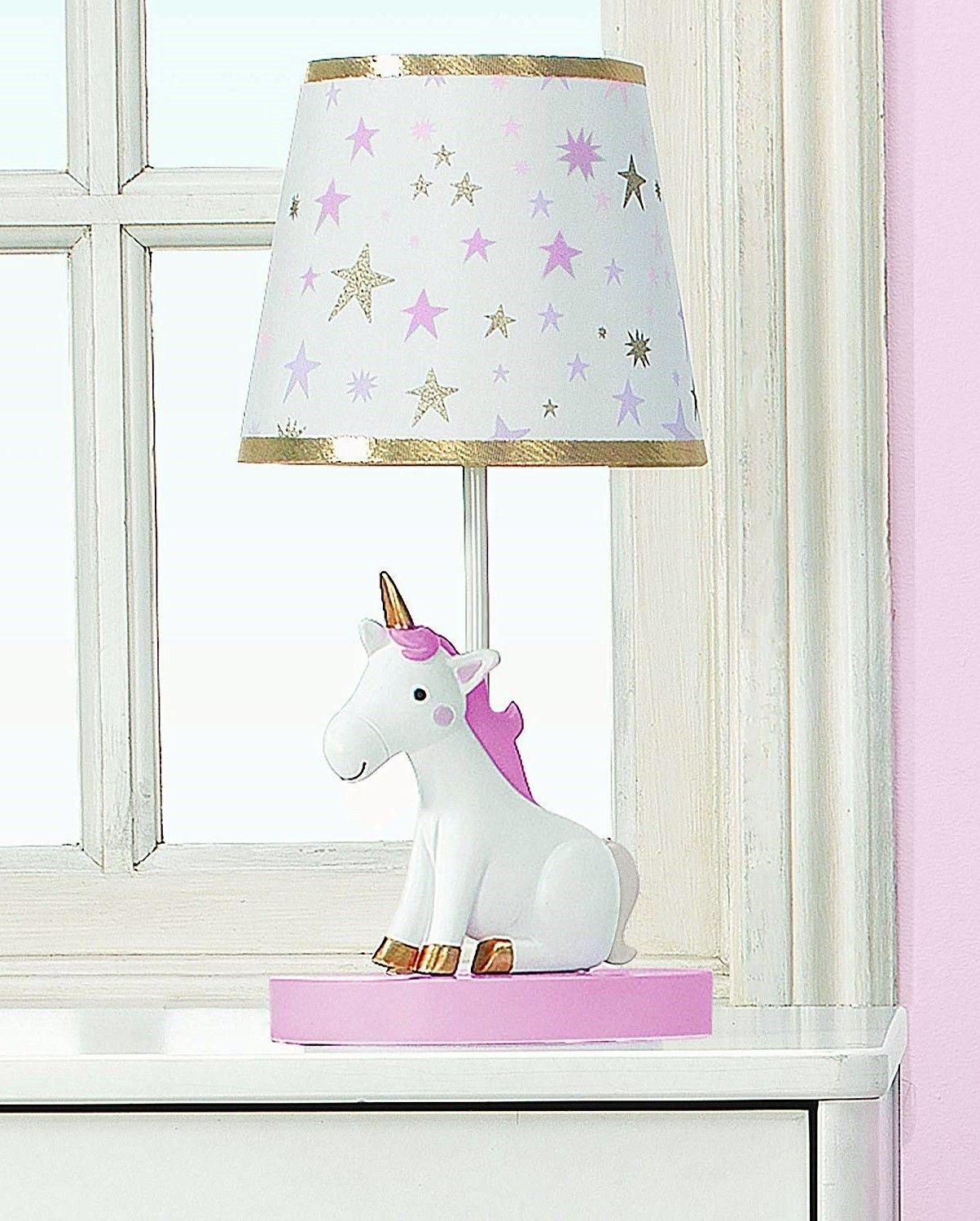 Unicorn Table Lamp Unicorn Bedroom Decor Girls Bedroom Unicorn Unicorn Room Decor
