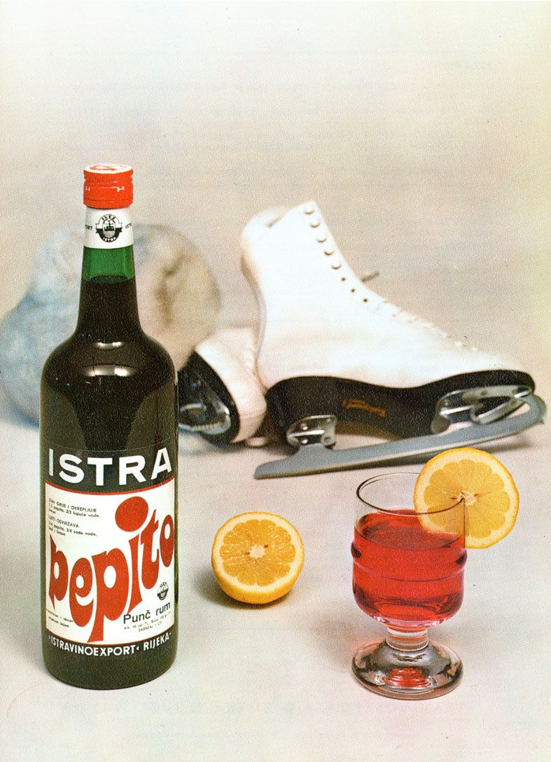 The Label Of Famous Liqueur Brand Pepito Manufactured By Istravino Export Rijeka The Former Famous Croatian Distiller Liqueur Exhibition Design Manufacturing