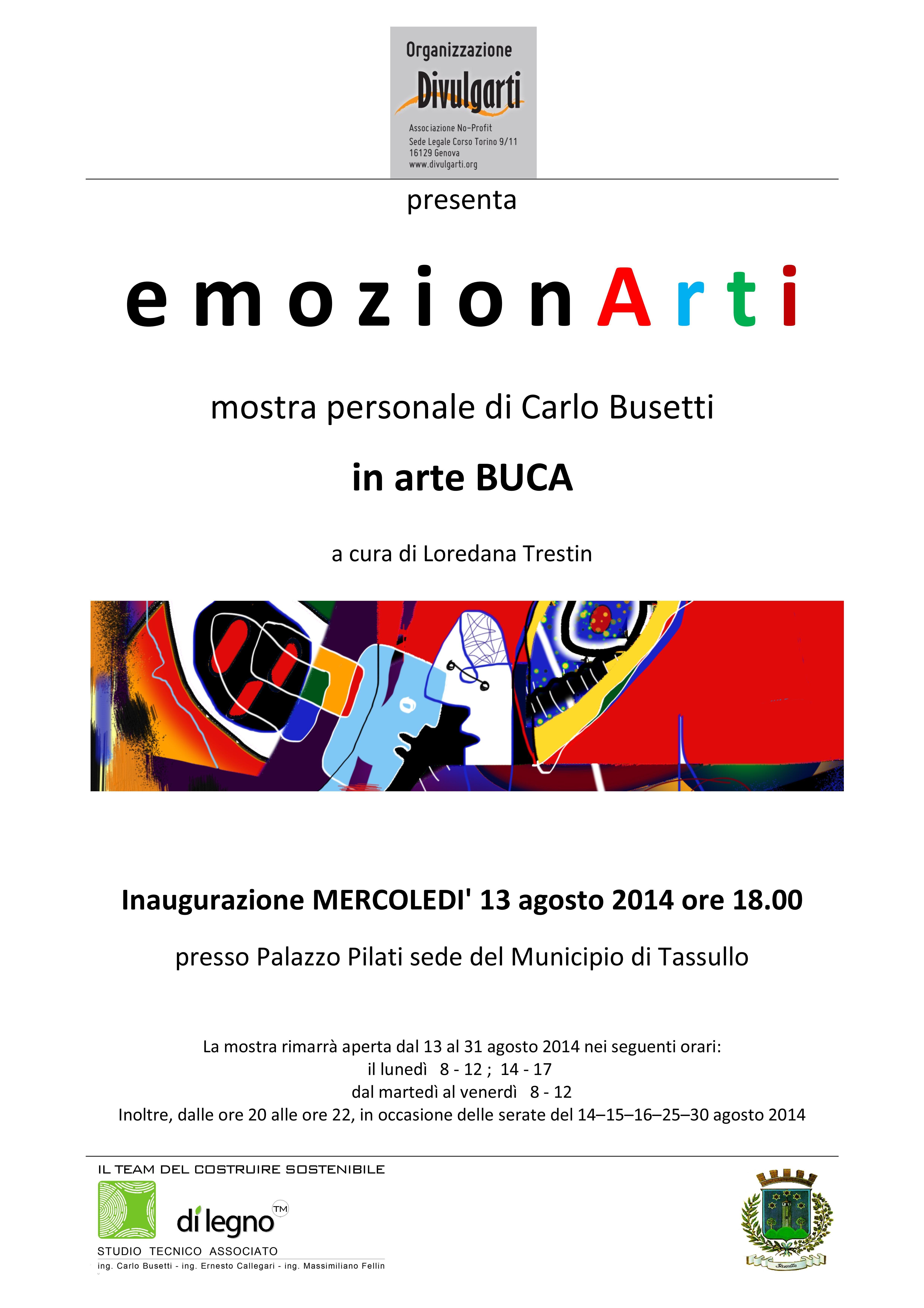 LOCANDINA Mostra Du0027arte Contemporanea Di #BUCA 13 31 Agosto 2014 Ore 18.00
