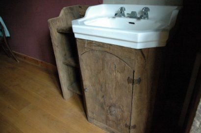 Meuble Vasque Rustique
