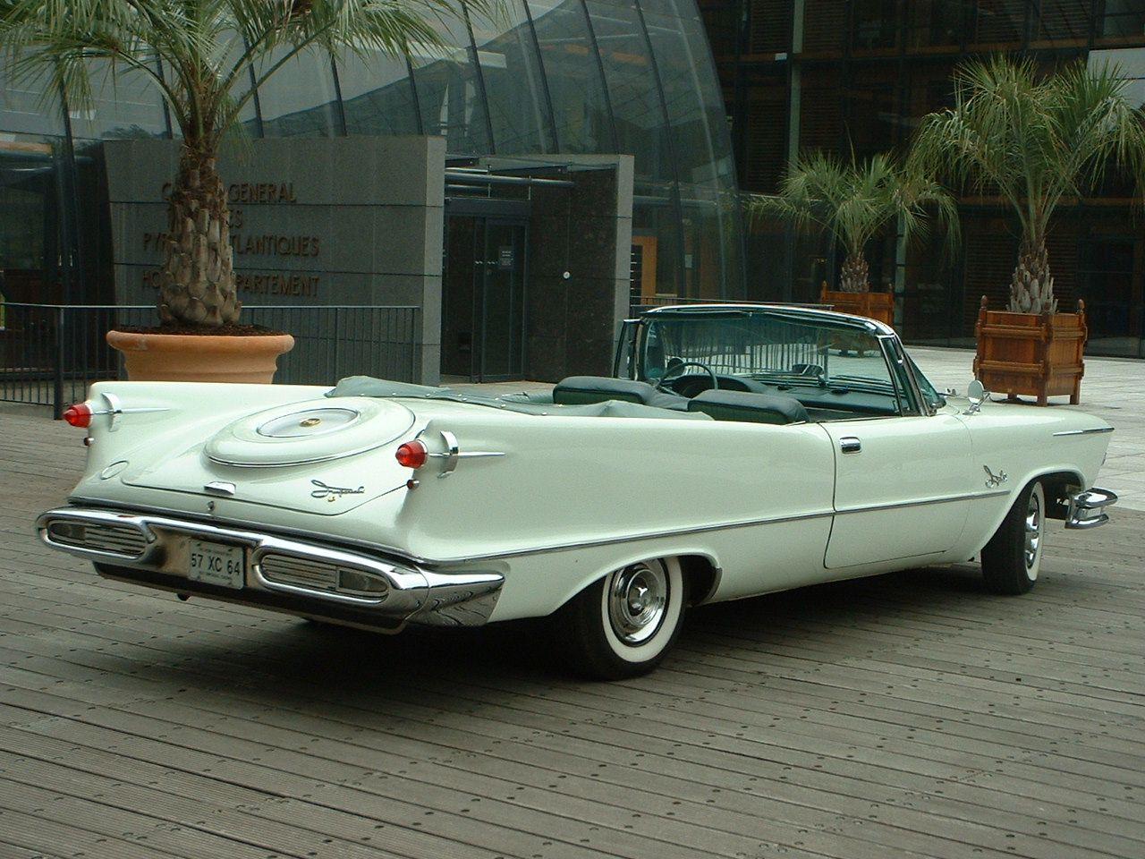 1957 chrysler 1957 chrysler imperial crown convertible