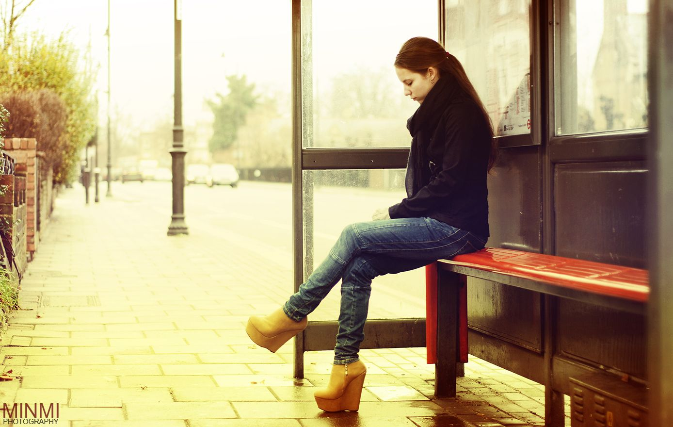 Image result for woman waiting