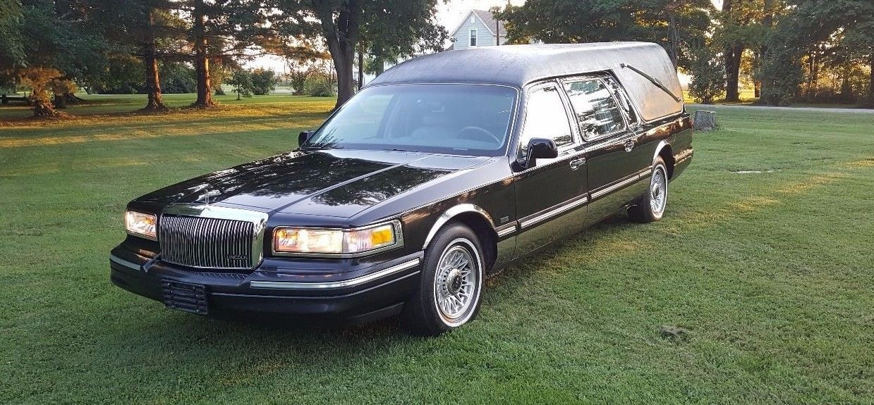 1997 Lincoln Town Car Hearse Eagle Funeral Coach Hearses For Sale