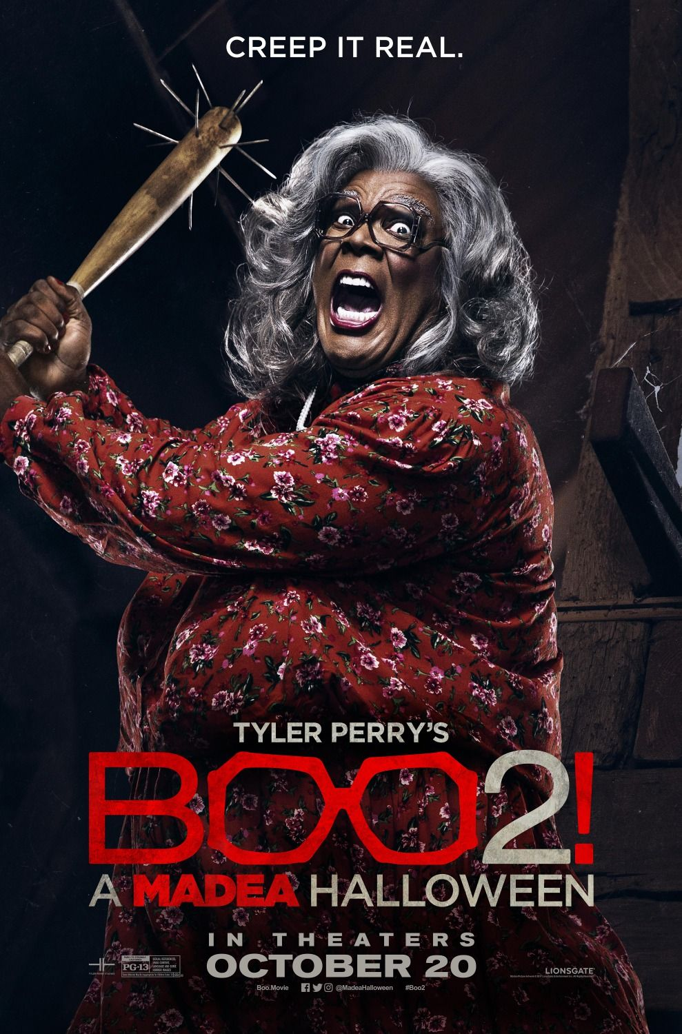 Boo 2! A Madea Halloween Movie Poster 7   Posters   Pinterest