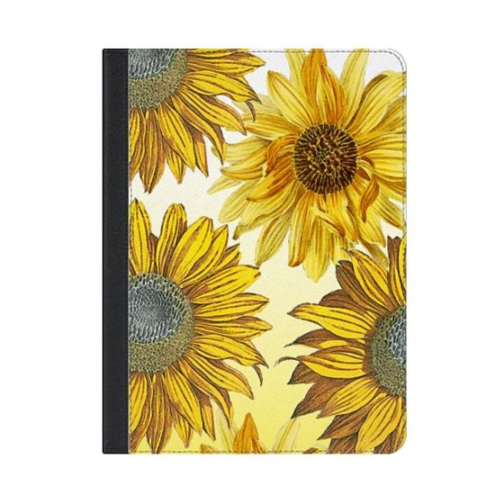 Bright sunflowers gradient