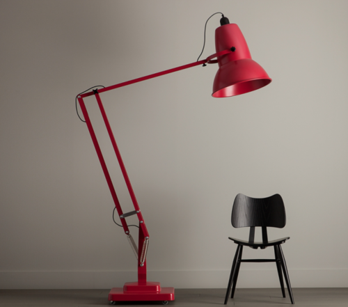 Oversized Floor Lamp By George Carwardine Floor Lamp Adjustable Floor Lamp Lamp Design