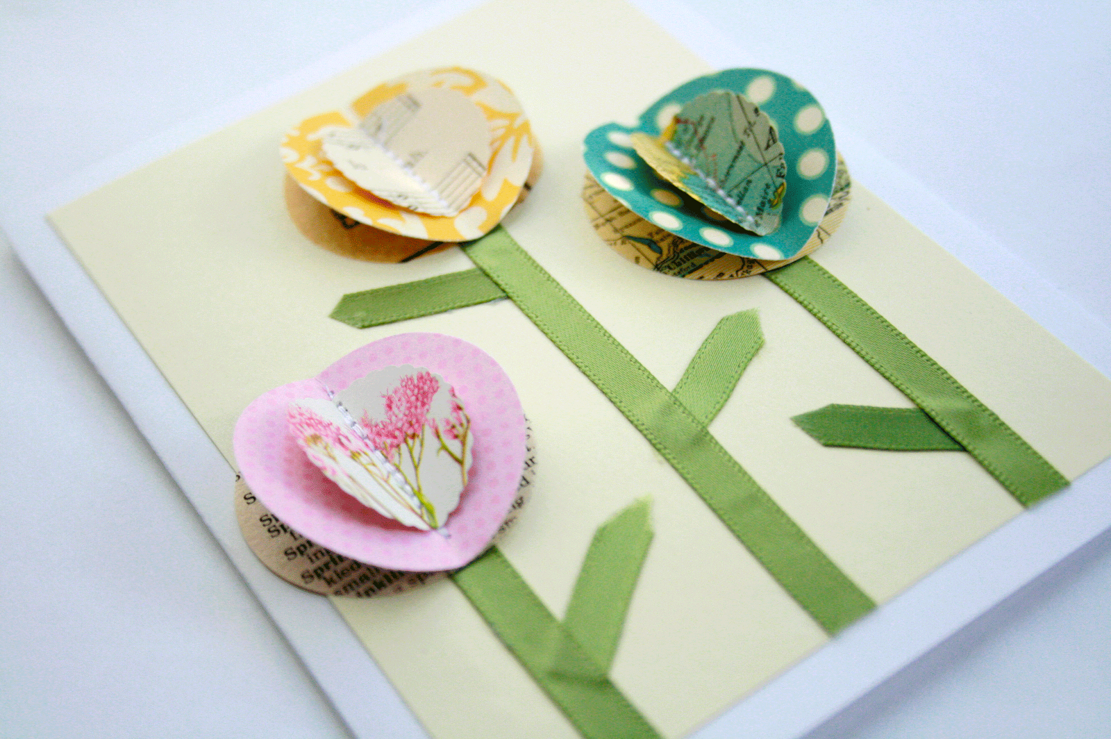 Say thanks with a diy motherus day cardelladot