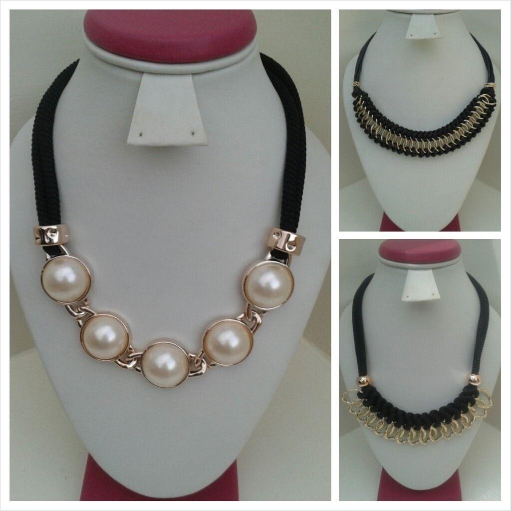 7a51924dd782 Collar Bisutería De Moda - Bs. 320