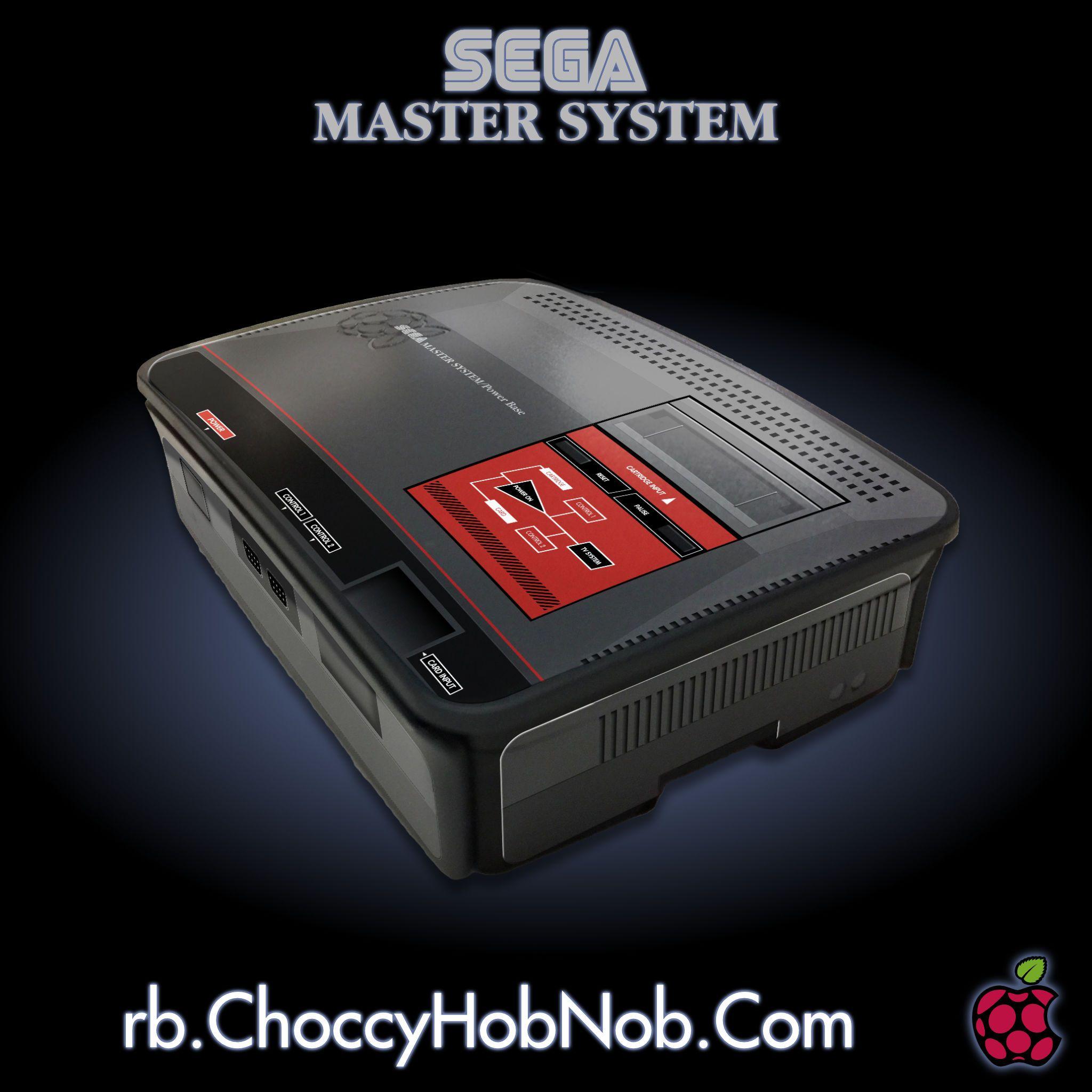 RetroPie Master System Official Case   Raspberry Pi Official