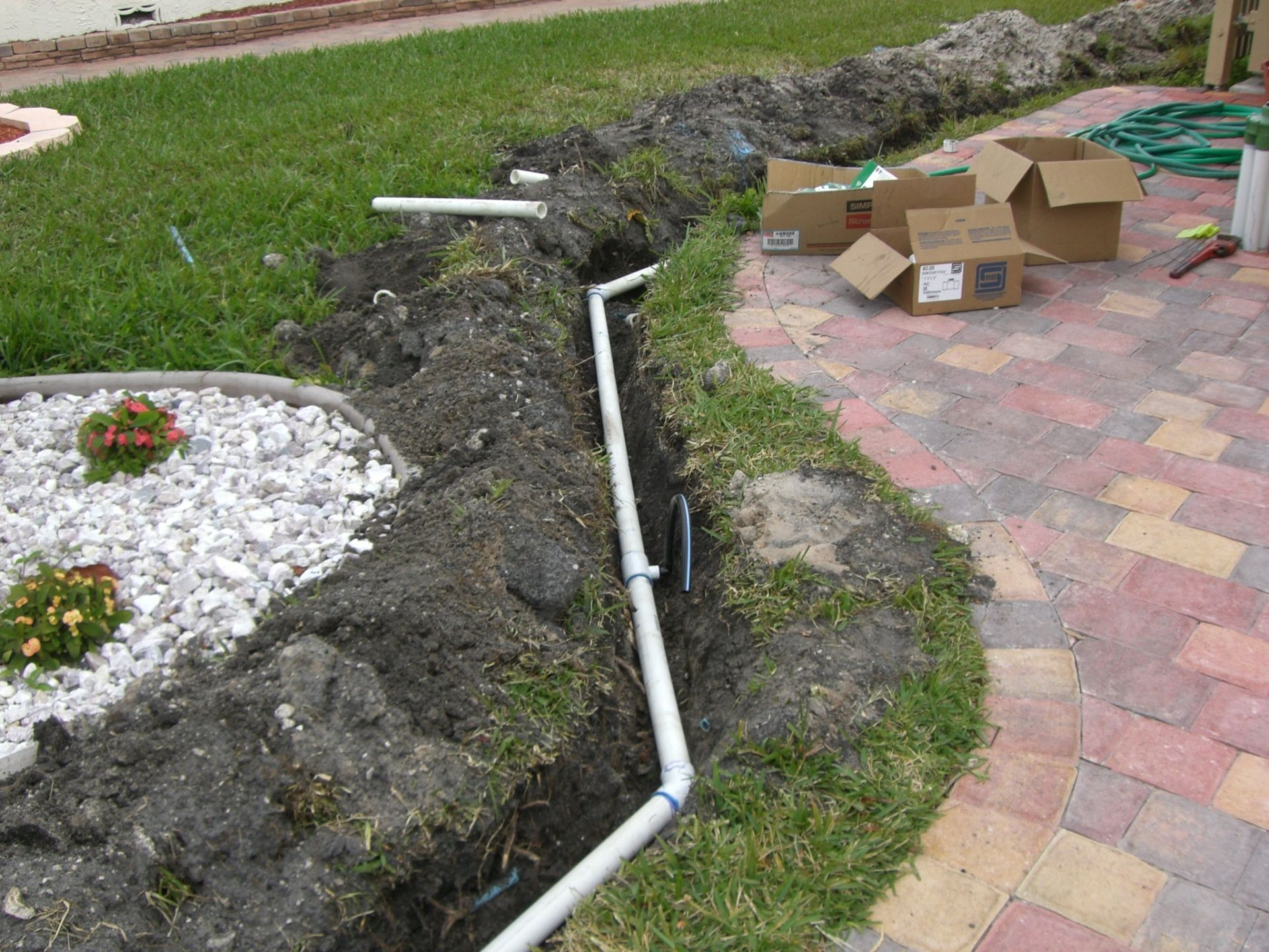 You May Need To Modify An Existing Sprinkler System Layout Sprinkler System Re Routes Are One Of The Ma Lawn Sprinkler System Sprinkler System Lawn Sprinklers