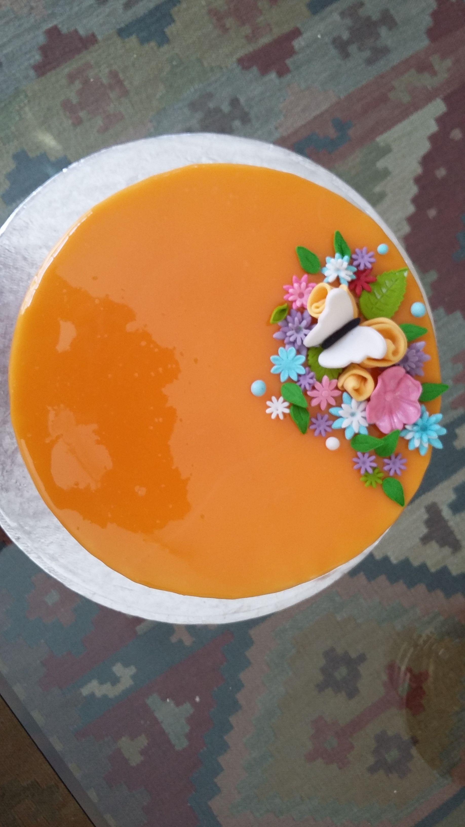 Mirror Glaze Carrot Cake Carrot Cake Mirror Glaze
