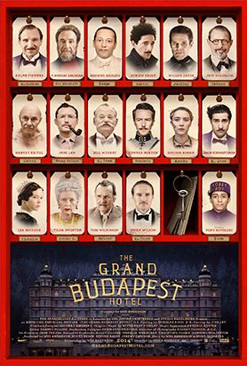 New release this week: The Grand Budapest Hotel