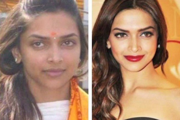 Deeepika Padukone Bollywood Actress How They Look Then And Now Shocking Actress Without Makeup Bollywood Actress Without Makeup Without Makeup