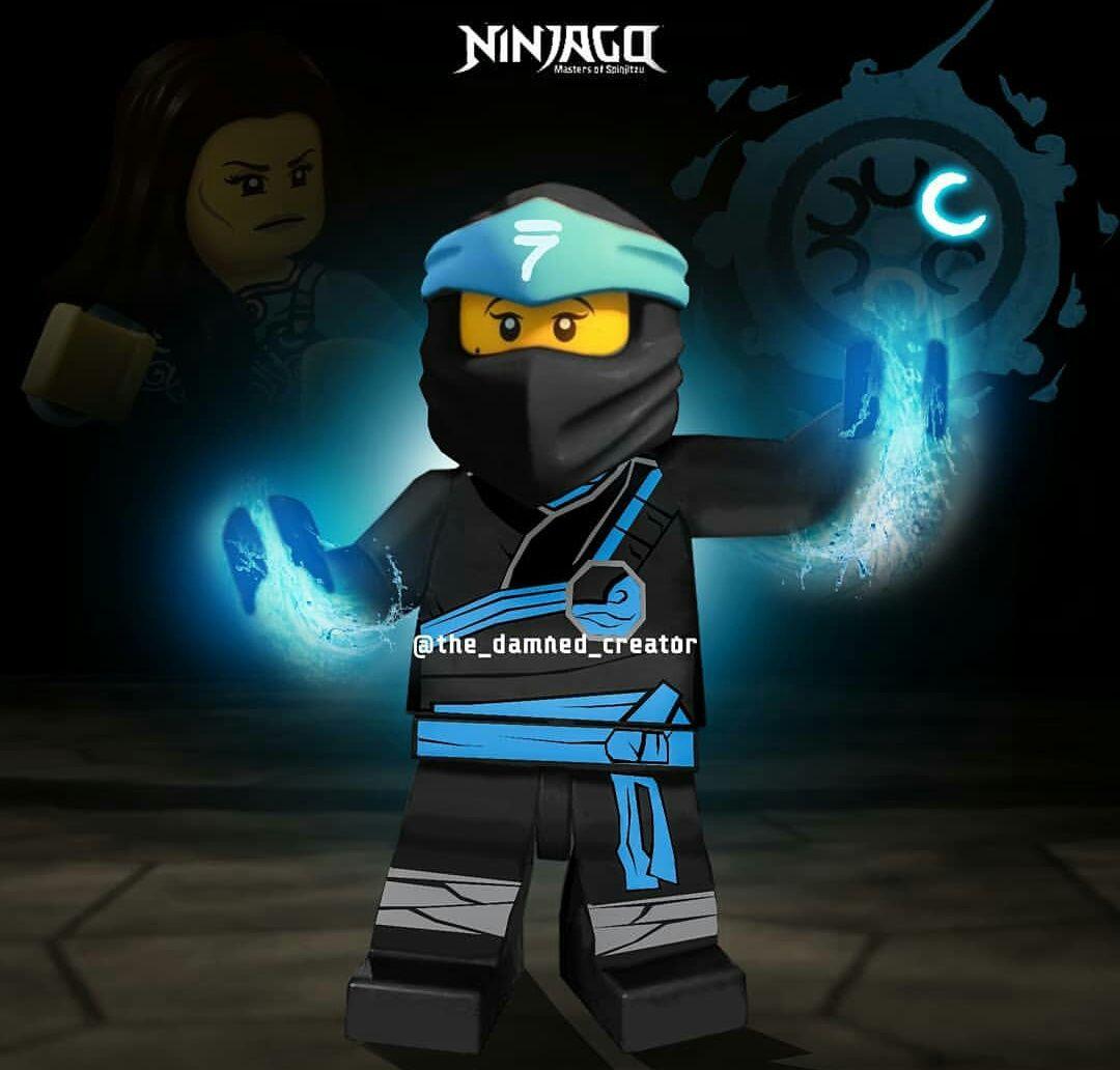 Nya Water master Lego Ninjago - Season 11 (с изображениями ...