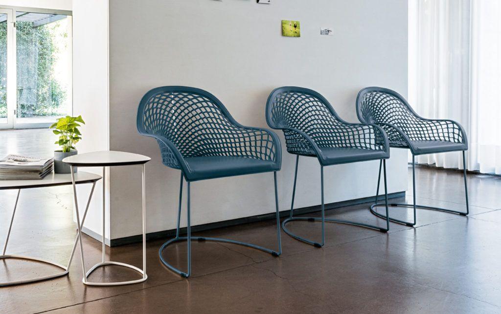Blauwe Design Stoelen.Guapa La Silhouette By Smellink Interiors Moderne