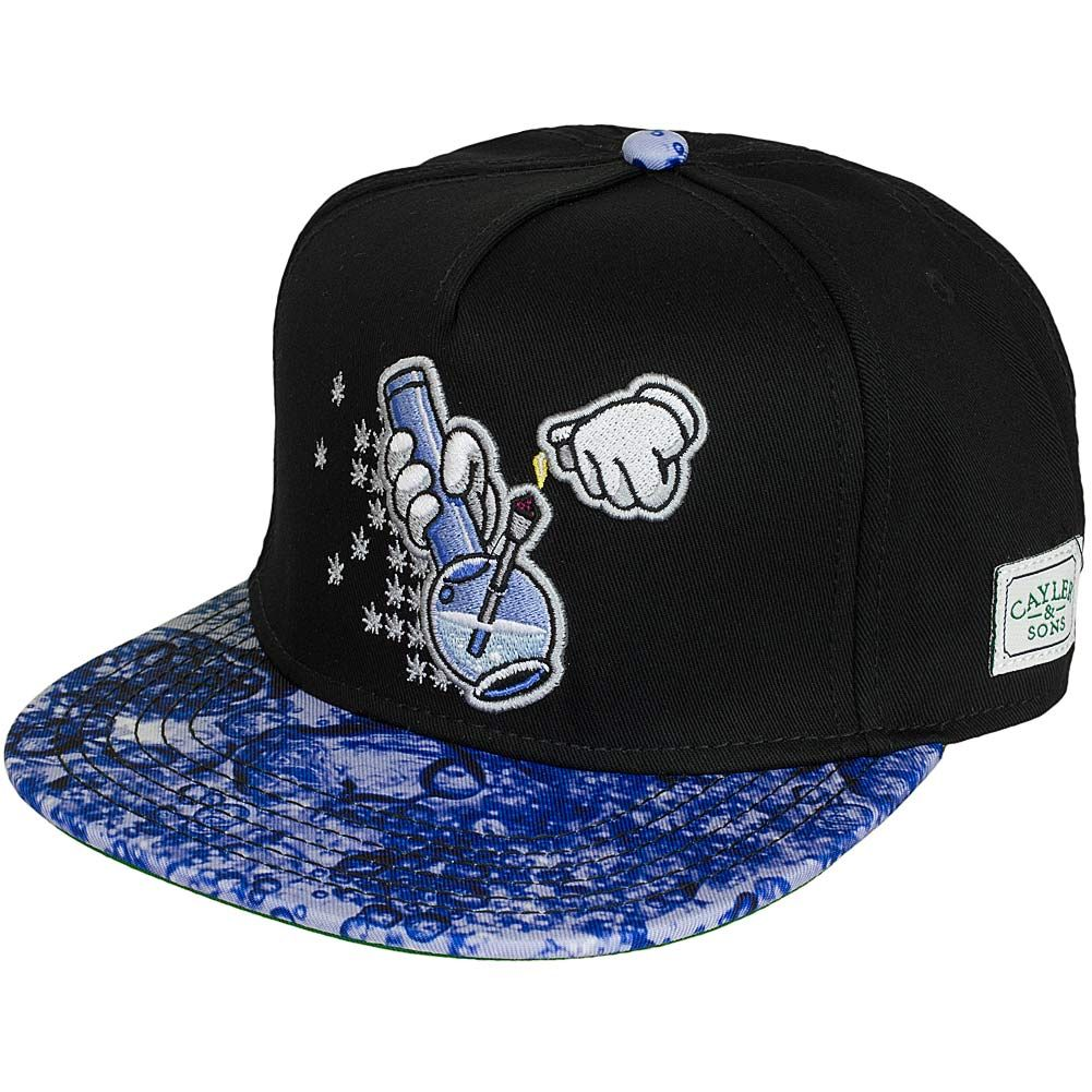 Cayler   Sons Cap Bubbles and Bongs schwarz blau  e0d2bbbae9c7b