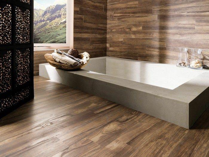 Badezimmer Fliesen Mit Holz Look | Bäder | Pinterest Fliesen Badezimmer