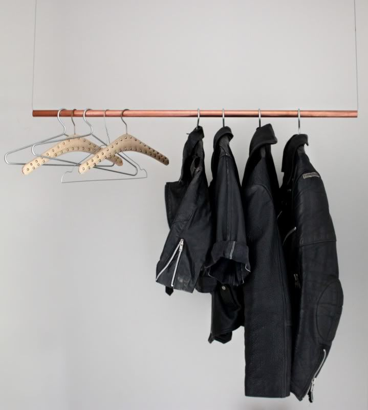 Hanging clothes racks  Bring your clothes out of the dark and into the  light with one of these 15