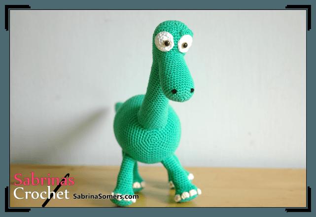 Arlo - Good Dinosaur - Crochet Pattern - Amigurumi   Crochet toys ...