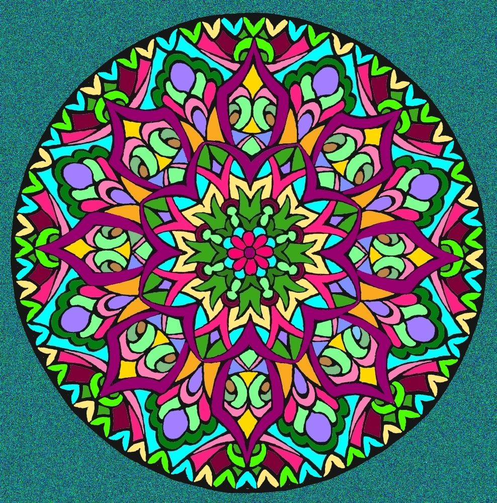 Mystical mandala coloring pages - For This Coloring Page See Mandala 470 On My Other Board Mandala Coloring Pages