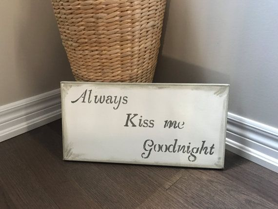 Hey, I found this really awesome Etsy listing at https://www.etsy.com/ca/listing/487316695/always-kiss-me-goodnight-collection-love
